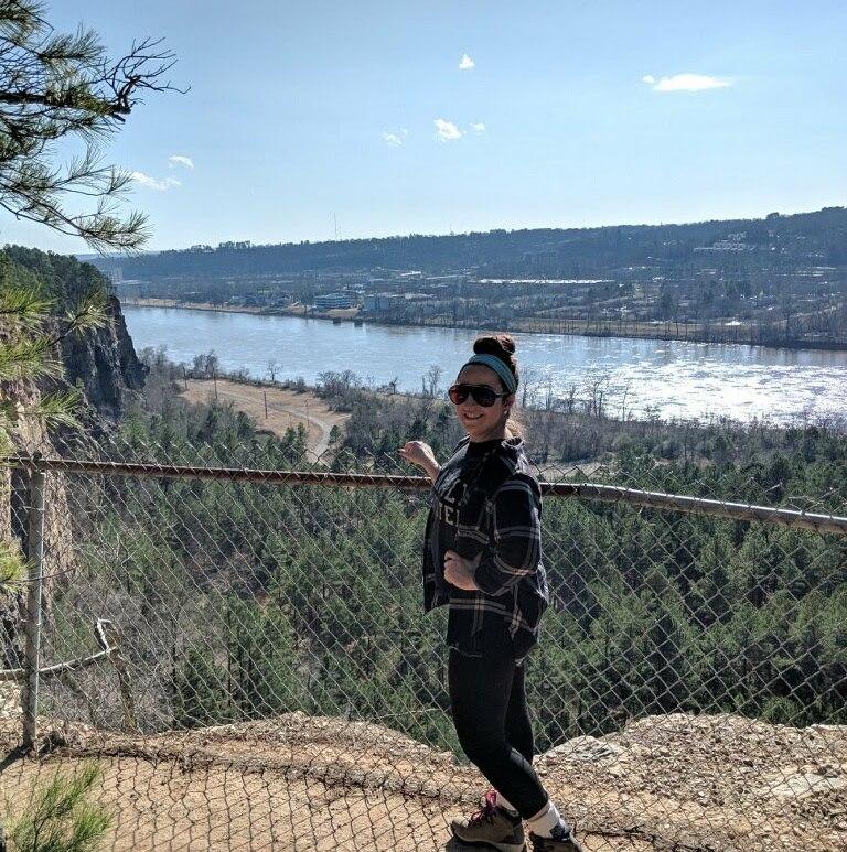 little rock hiking trails